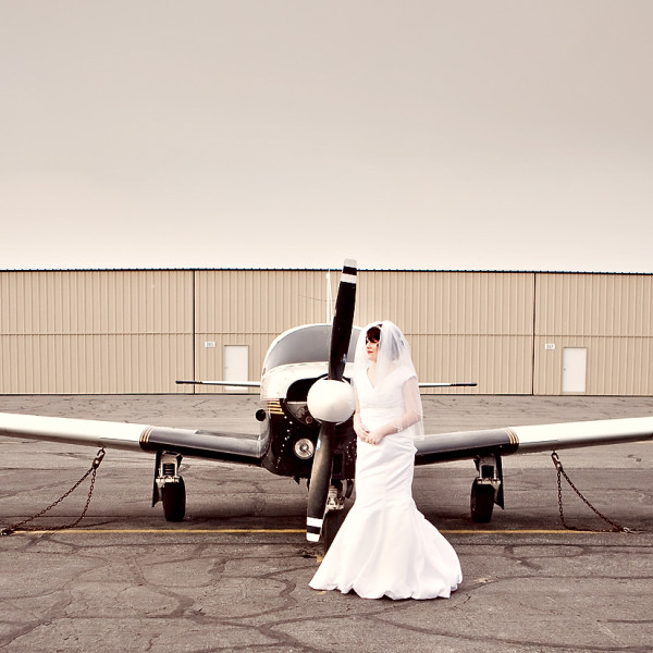 A classic beauty for a bride!  And a tour around Ogden!