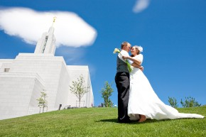 Draper Temple utah lds wedding photographer in salt lake city utah