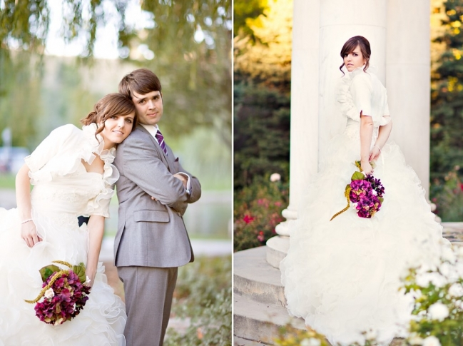 memory grove bridal session in salt lake city wedding photographer