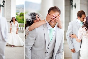 fun utah wedding photographer shoots in the utah state capitol building