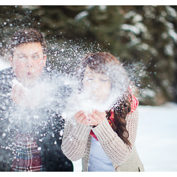 Utah Engagements in the Snow