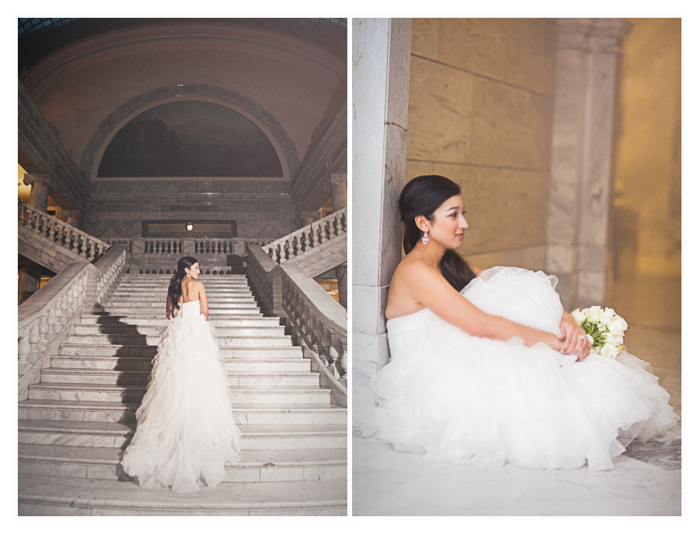 utah wedding photographer, state capitol bridals