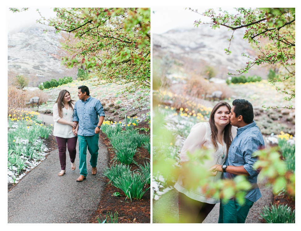 red butte gardens engagement photos (2)