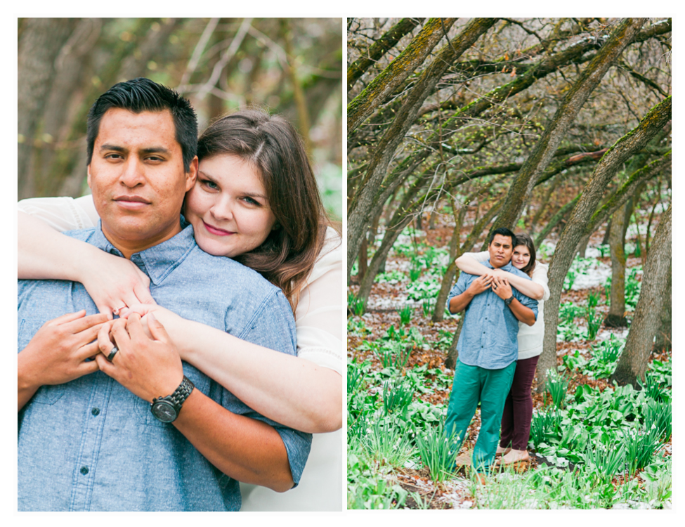 red butte gardens engagement photos (8)
