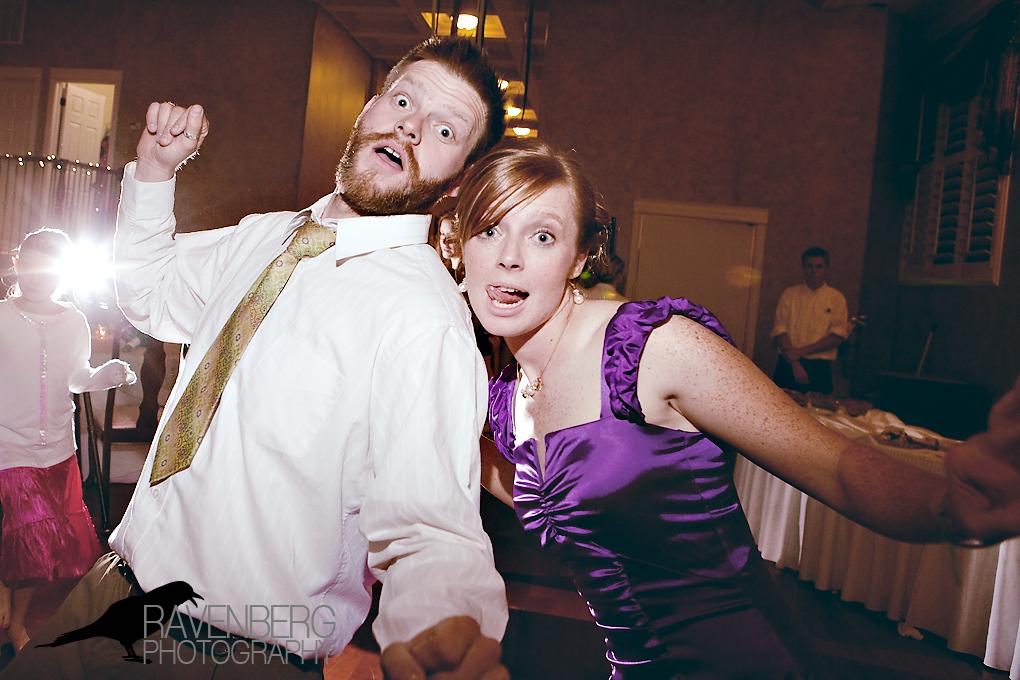 funny utah wedding photo