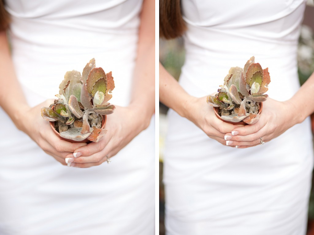 look skinny in your wedding photos
