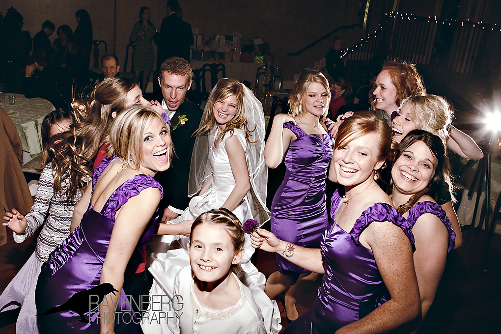 party at the utah wedding