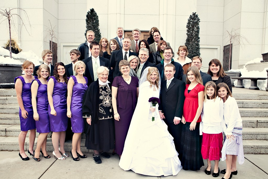 temple wedding utah