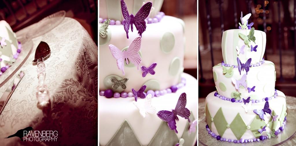 wedding cake utah wedding butterflys