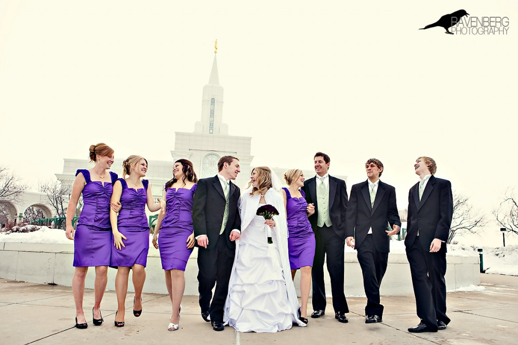 wedding in bountiful Utah