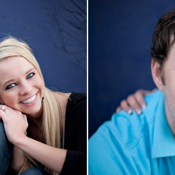 Fun and trendy engagement shoot in downtown Salt Lake City!
