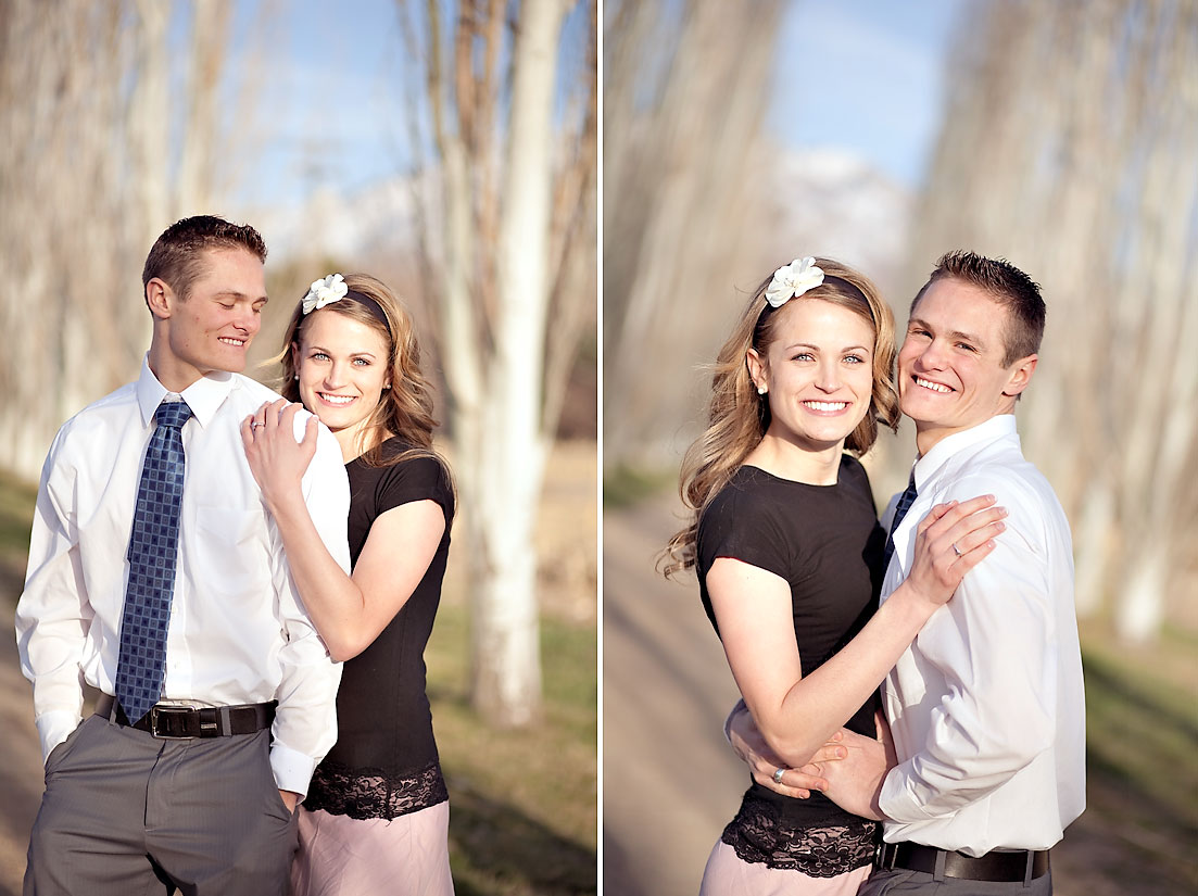 Utah Engagement Photos Cute Cute Couple Ravenberg Photography