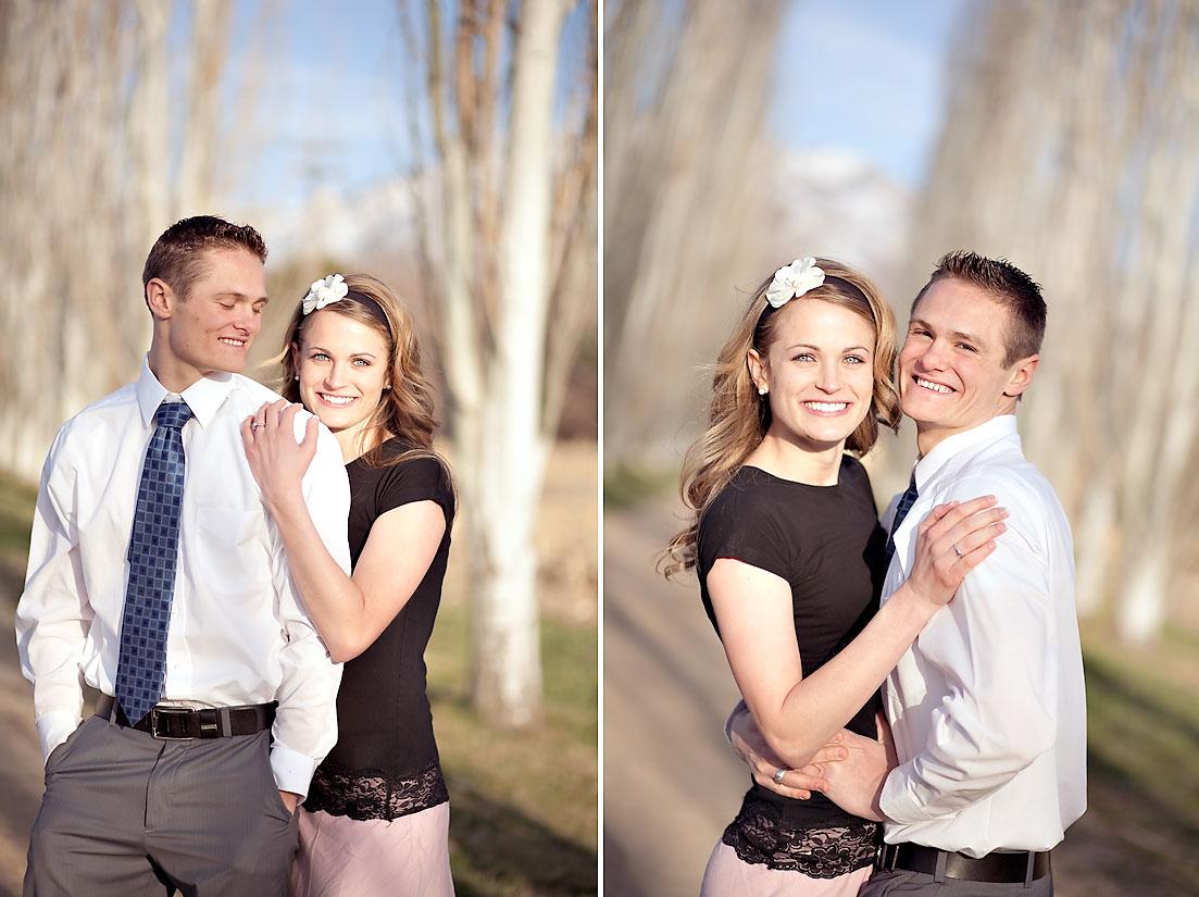utah engagement photos cute cute couple ravenberg photography