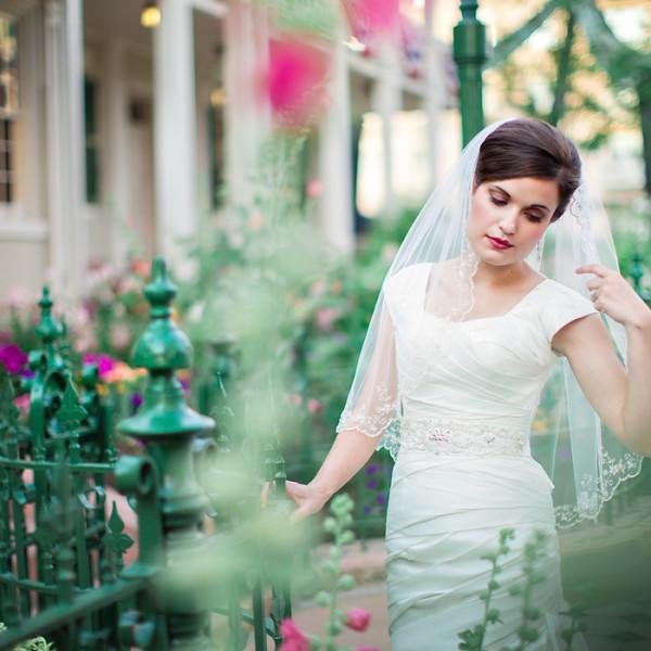 Temple Square Bridal Photos