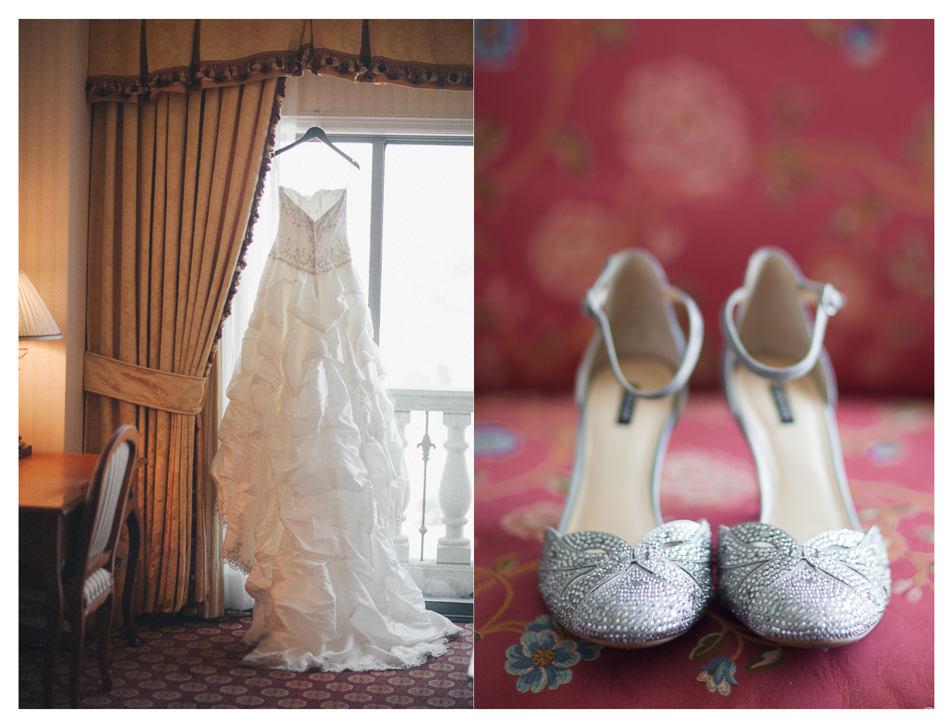 wedding details of a grand America hotel wedding in utah