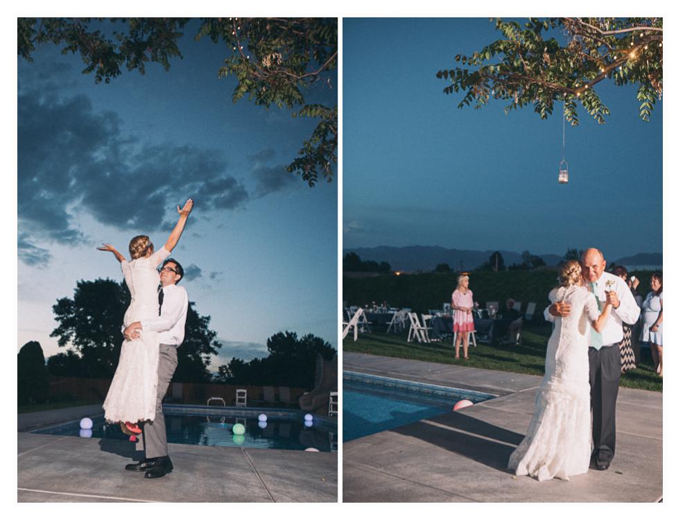 salt lake city temple wedding by utah wedding photographer
