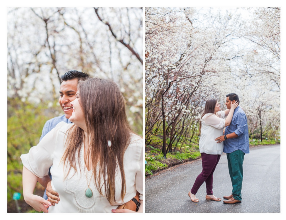 red butte gardens engagement photos (3)