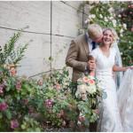 rose garden bridal session in UTah