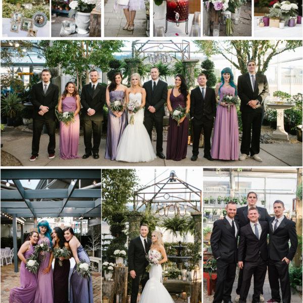 Cactus and Tropicals Wedding